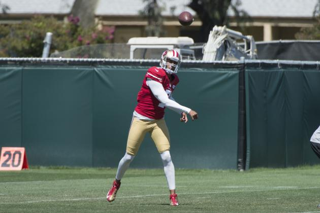 Kaepernick's Touch Throws Have Vastly Improved