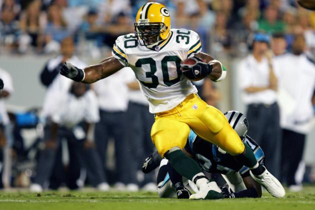 Ahman Green Interning with Packers