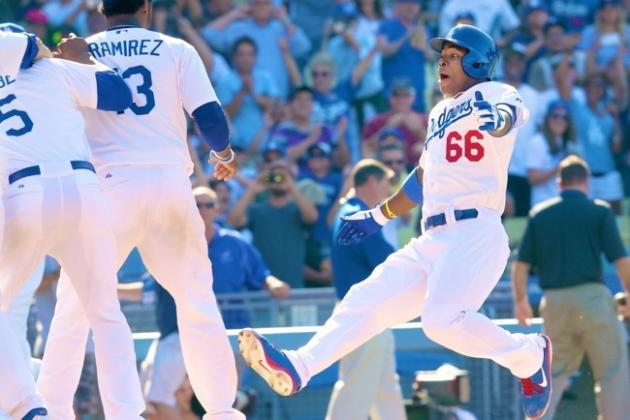 Were Yasiel Puig's Post-Walk-Off Antics Innocent Fun or Showing Up the Reds?