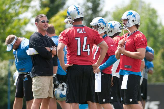 Lions Not Committed to Keeping 3rd QB