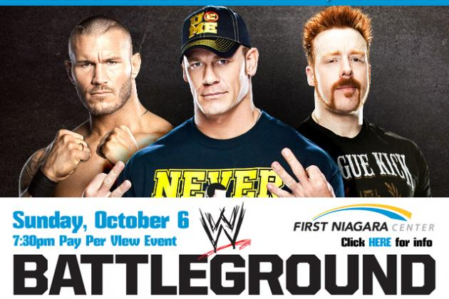 WWE Battleground Announced as New October Pay-Per-View