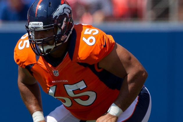 Manny Ramirez Now Handling Snaps for Peyton Manning at Broncos Camp