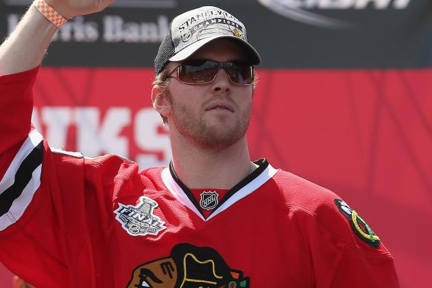Hawks' Bickell Finally Seeing Fruits of His Labor