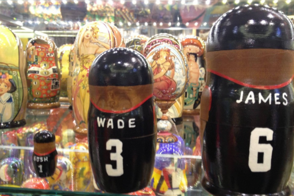 Miami Heat Nesting Dolls Aren't Kind to Chris Bosh
