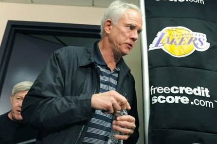 Mitch Kupchak Says Lakers Won't Throw in the Towel Next Season