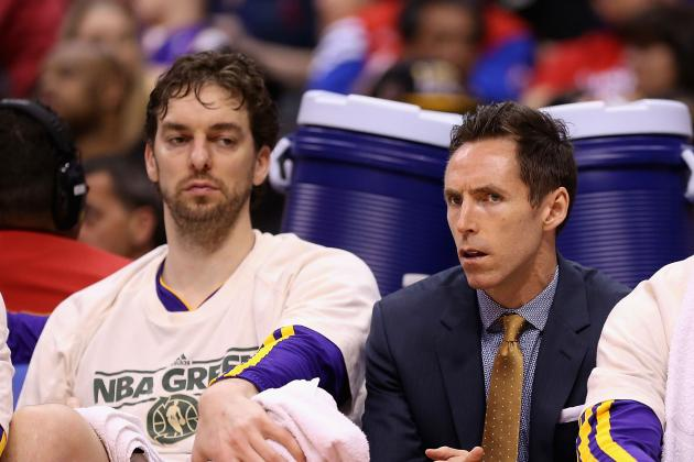 Lakers Expect to Have Nash, Gasol Ready for Training Camp. Kobe… We'll See