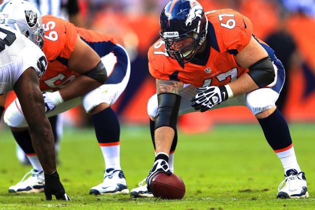 How Will Dan Koppen's Injury Affect Peyton Manning and Denver Broncos Offense?