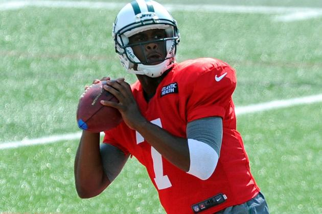 Report: Geno Smith Looks out of Shape at Jets Camp