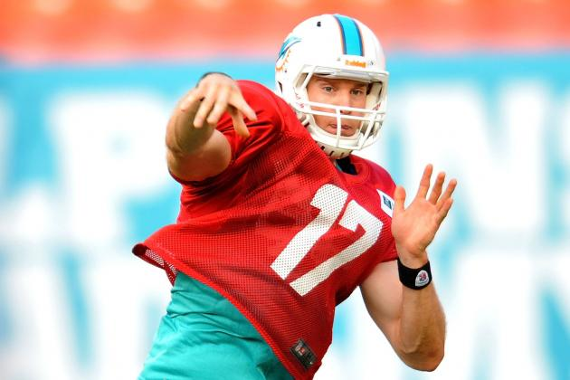 Ryan Tannehill Has Three TDs in Scrimmage