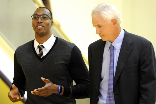 Mitch Kupchak Says He 'Wasn't Shocked' but 'Disappointed' Dwight Howard Bolted