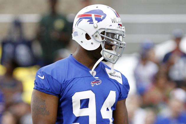 Mario Williams 'Off Campus' with Foot Injury; Answers Limited