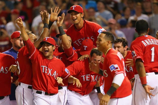 Rangers' Lineup Changes Pay off in Walk-off Win