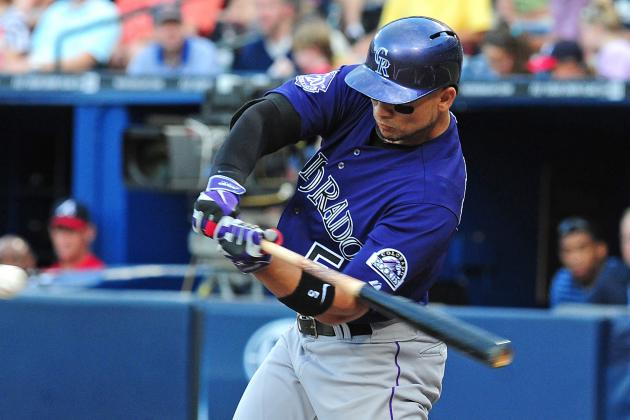 Rockies Blow Five-Run Lead, Lose to Braves in 10 Innings