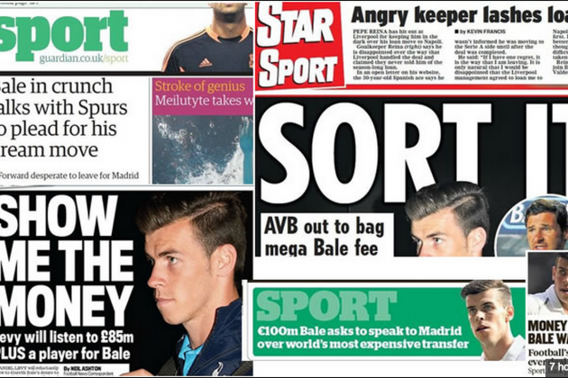 Do the British Media Really Know What's Going on with Gareth Bale Transfer?