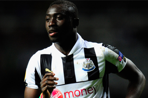 Newcastle Striker Papiss Cisse Explains Wonga U-Turn