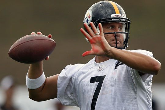 Steelers QB Ben Roethlisberger Says Knee Feels 'Great'