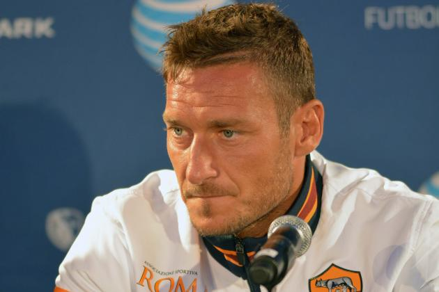Roma Star Francesco Totti Turned Down Offer to Move to MLS