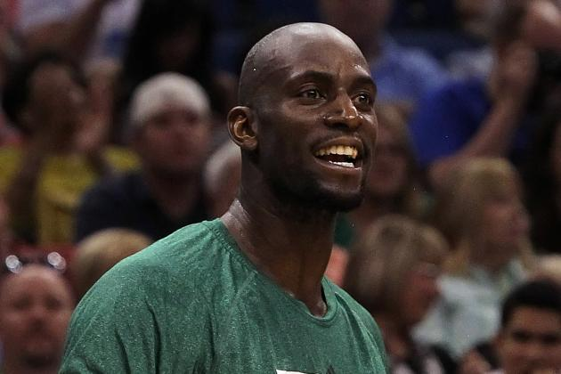 Brooklyn Nets Alan Anderson and Kevin Garnett Have a Special Relationship