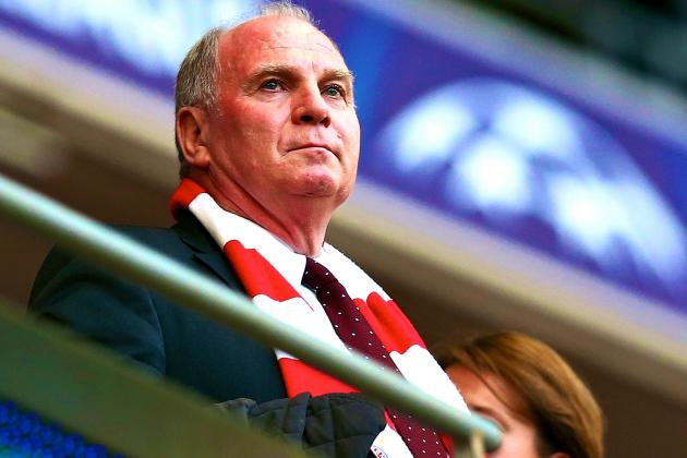 Bayern Munich President Uli Hoeness Charged with Tax Evasion