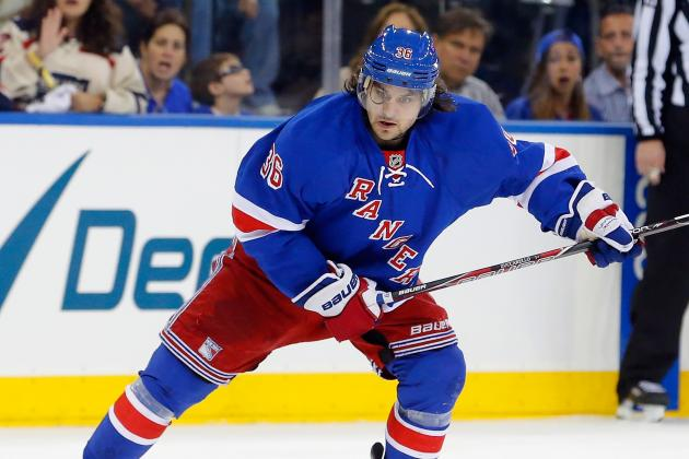 Mats Zuccarello, Rangers Agree on One-Year Deal