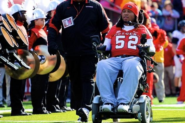 Eric LeGrand's No. 52 Jersey Will Be Retired by Rutgers