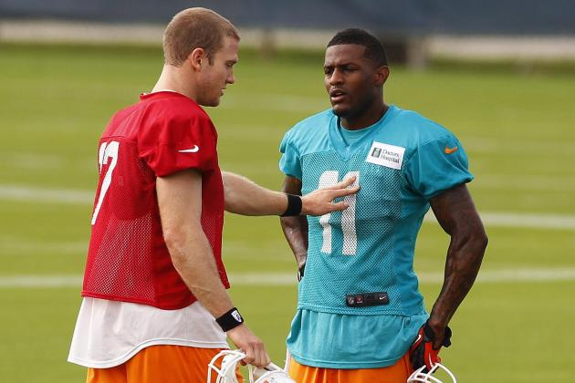 Mike Wallace, Ryan Tannehill and a Brief History of New QB-WR Tandems