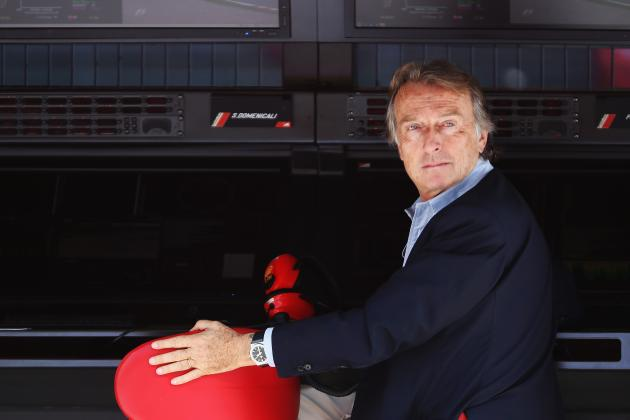 Angry Ferrari F1 Boss Montezemolo Puts Fernando Alonso in His Place