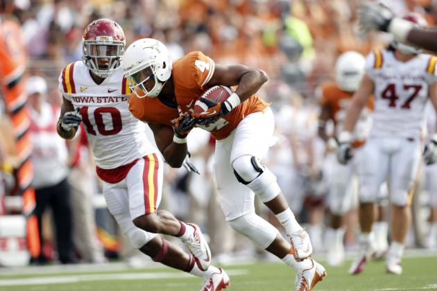 Ex Texas WR Cayleb Jones Eyeing Auburn, UCLA, Clemson and More Transfer Options
