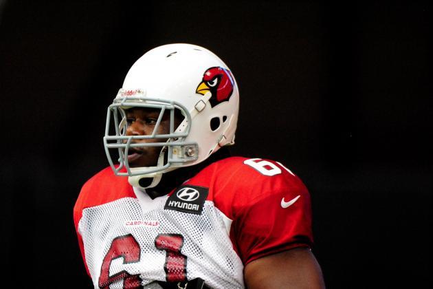 Arizona Cardinals Rookie Jonathan Cooper Feels Pressure to Succeed