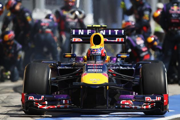 Formula 1: Predicting Sebastian Vettel's Career Grand Prix Victory Tally