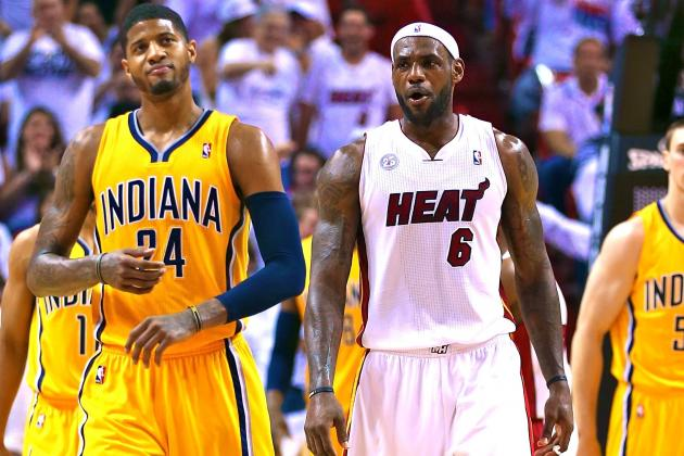 Why Indiana Pacers Are Biggest Threat to Miami Heat's 3rd Straight Title in 2014