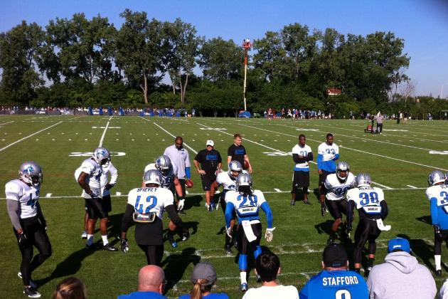 2013 Detroit Lions Training Camp Lowdown: Tuesday, July 30