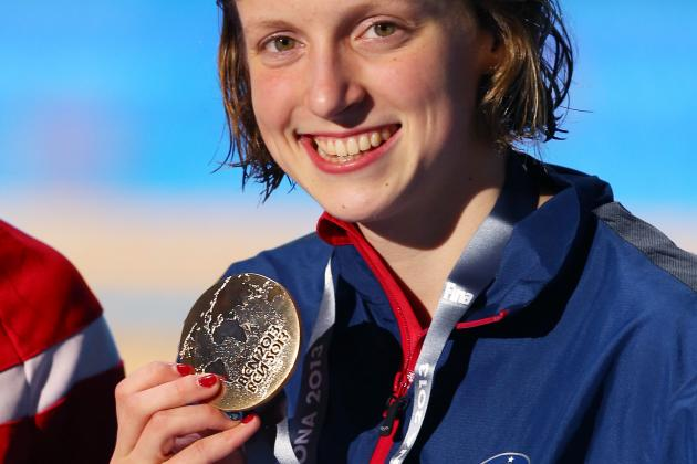 Video: Katie Ledecky Wins 1,500 Freestyle World Title with Worldrecord