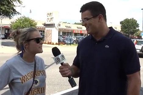 Ryan Kerrigan Poses as Reporter, Asks Fans About Ryan Kerrigan