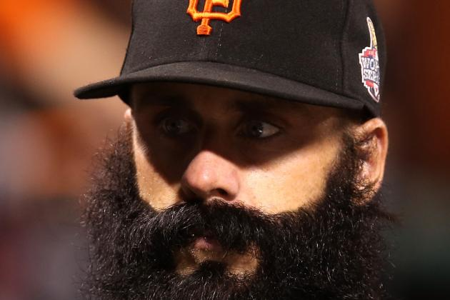 Report: Dodgers Sign Ex-Giants Closer Brian Wilson