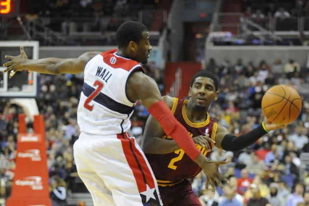 Kyrie Irving vs. John Wall: Which Young Star PG Has More at Stake Next Season?