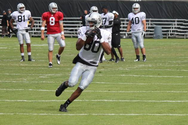 Rod Streater Emerging as the No. 1 Receiver for the Oakland Raiders