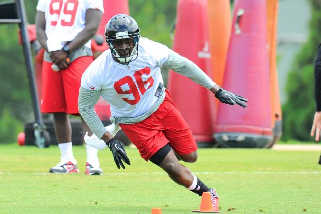 Dimitroff, Falcons Coaches Showing Faith in Young Lines