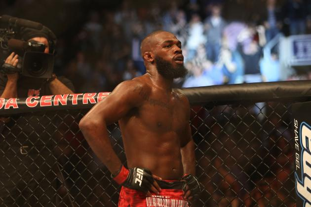 Jon Jones Not Ready to Move to Heavyweight Yet but It Will Happen Eventually