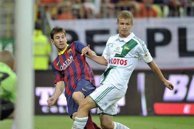 Neymar Makes Barcelona Debut as Lionel Messi Scores Against Lechia Gdansk