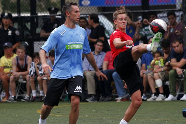 Guinness International Champions Cup: Steve Nash's Tryout Is Good for Event