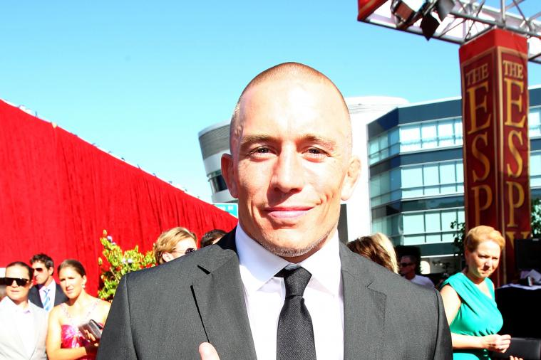 Georges St-Pierre: Anderson Silva Is Still the Best Pound-for-Pound