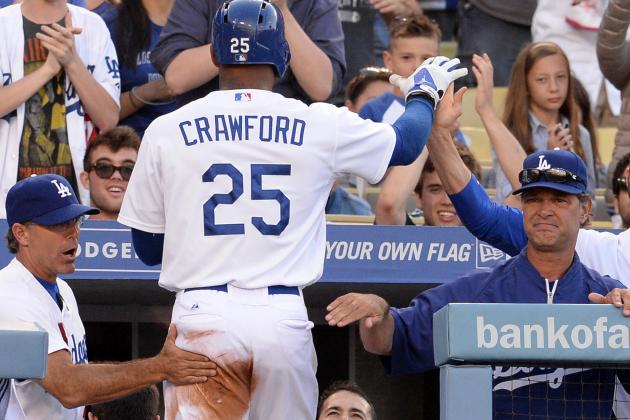 Dodgers Lineup vs. Yankees; Crawford Returns, Starting in LF