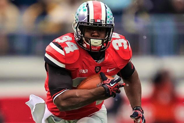 Ohio State Suspends RB Carlos Hyde for at Least First 3 Games of 2013 Season