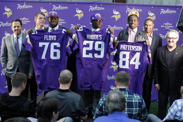 What Minnesota Vikings Should Expect from All 3 First-Round Picks This Season
