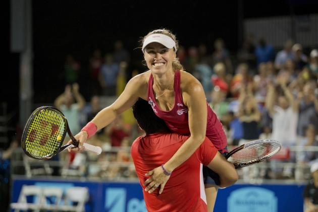 Martina Hingis to Make WTA Tour Debut Wednesday Night on Heels of WTT Title