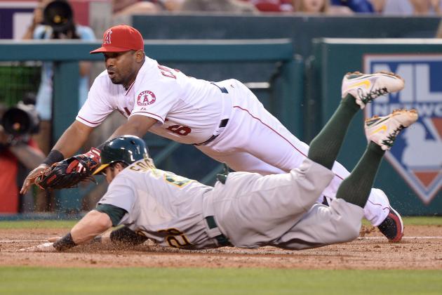 MLB Trade Deadline: Oakland A's Acquire Alberto Callaspo from Angels