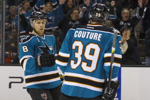San Jose Sharks: Comparing Contract Extensions of Joe Pavelski, Logan Couture
