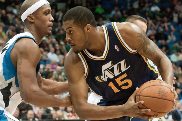 Beehive State Becoming Home, Sweet Home for Derrick Favors
