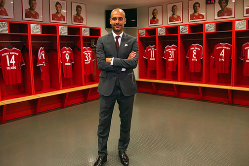 Guardiola Requests Separate Dressing Room